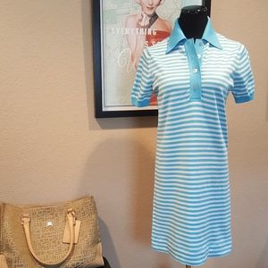 Vintage 60s Haymaker Striped Golf Dress
